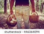Mushroomer Collect Mushroom On...