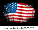 flag of the usa  the united... | Shutterstock .eps vector #446365378