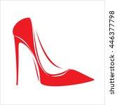 Women's Red Shoe