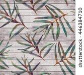Seamless Pattern With Foliage....