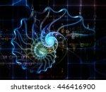 nature geometry series.... | Shutterstock . vector #446416900