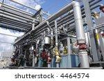 oil refinery interior of main... | Shutterstock . vector #4464574