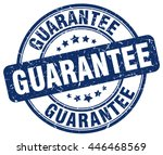 guarantee. stamp | Shutterstock .eps vector #446468569