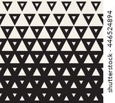 vector seamless black and white ... | Shutterstock .eps vector #446524894
