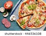 Tasty Italian Pizza With...