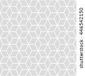 cubes seamless pattern... | Shutterstock .eps vector #446542150