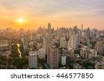 bangkok thailand   april 2016   ... | Shutterstock . vector #446577850
