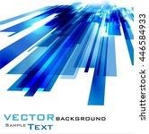 vector elements for infographic.... | Shutterstock .eps vector #446584933