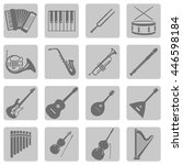 vector set of musical...