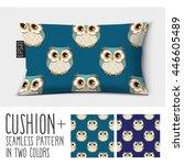 design vector pillow  cushion . ...   Shutterstock .eps vector #446605489
