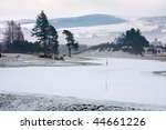 A Golf Course In Scotland On A...