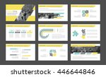 elements of infographics for... | Shutterstock .eps vector #446644846