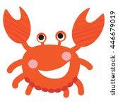 an illustration of a cute... | Shutterstock .eps vector #446679019