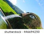 wattens austria august 13  2012 ... | Shutterstock . vector #446694250