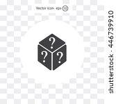 vector illustration of dice...   Shutterstock .eps vector #446739910