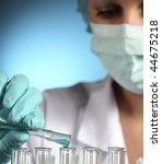 chemist | Shutterstock . vector #44675218
