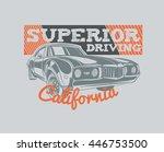 vector template california... | Shutterstock .eps vector #446753500
