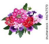 Elegant Bouquet With Verbena...