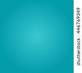 pop art background  dots on... | Shutterstock .eps vector #446769349