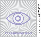 eye icon  vector illustration....