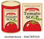 vector illustration of a tin... | Shutterstock .eps vector #446789524