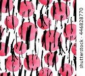 creative vector seamless... | Shutterstock .eps vector #446828770