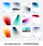 brochure template layout  cover ... | Shutterstock .eps vector #446830366