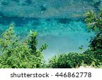 Above Tropical Sea Nature. Bal...