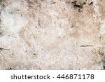 concrete wall background | Shutterstock . vector #446871178