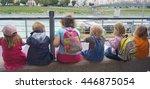 salzburg austria august 16 ... | Shutterstock . vector #446875054