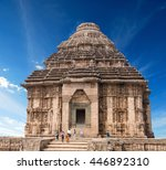 temple of the sun  konark  | Shutterstock . vector #446892310