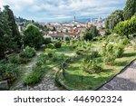 view from giardino delle rose... | Shutterstock . vector #446902324