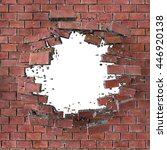 3d render  3d illustration ... | Shutterstock . vector #446920138