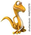 fun lizard | Shutterstock . vector #446923570