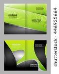 brochure design  | Shutterstock .eps vector #446925664
