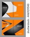 vector brochure template design  | Shutterstock .eps vector #446929540