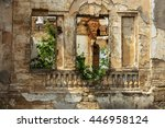 Ruins Of An Ancient House In...