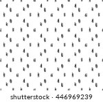 vector hand drawn abstract... | Shutterstock .eps vector #446969239