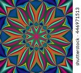 pattern in zigzag | Shutterstock . vector #446971513