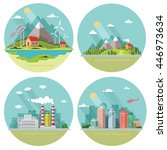 set of icons of nature for your ...   Shutterstock .eps vector #446973634
