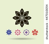 flower   Shutterstock .eps vector #447010054