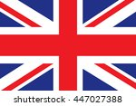 uk flag | Shutterstock .eps vector #447027388