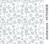 pattern biology | Shutterstock .eps vector #447033838