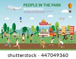 infographic elements. this... | Shutterstock .eps vector #447049360