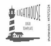 logo  sign or label design... | Shutterstock .eps vector #447072124