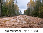 Real Latvian Road Through The...