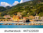 monterosso  italy   may 5  2016 ... | Shutterstock . vector #447122020