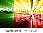 flag of benin  national country ... | Shutterstock . vector #44713831