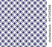 japanese seamless pattern... | Shutterstock .eps vector #447145348