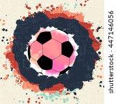 soccer championship. on...   Shutterstock .eps vector #447146056